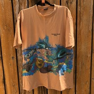 Vintage Cayman Islands Tourist Tee ☀️